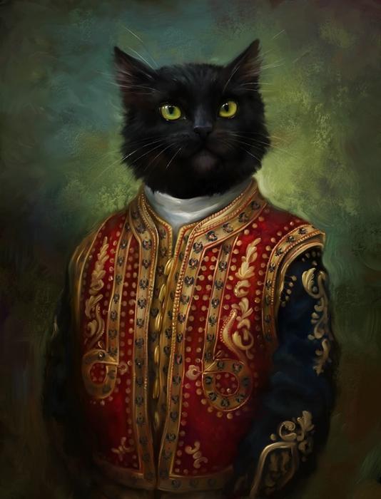 Знатные кошки Эльдара Закирова