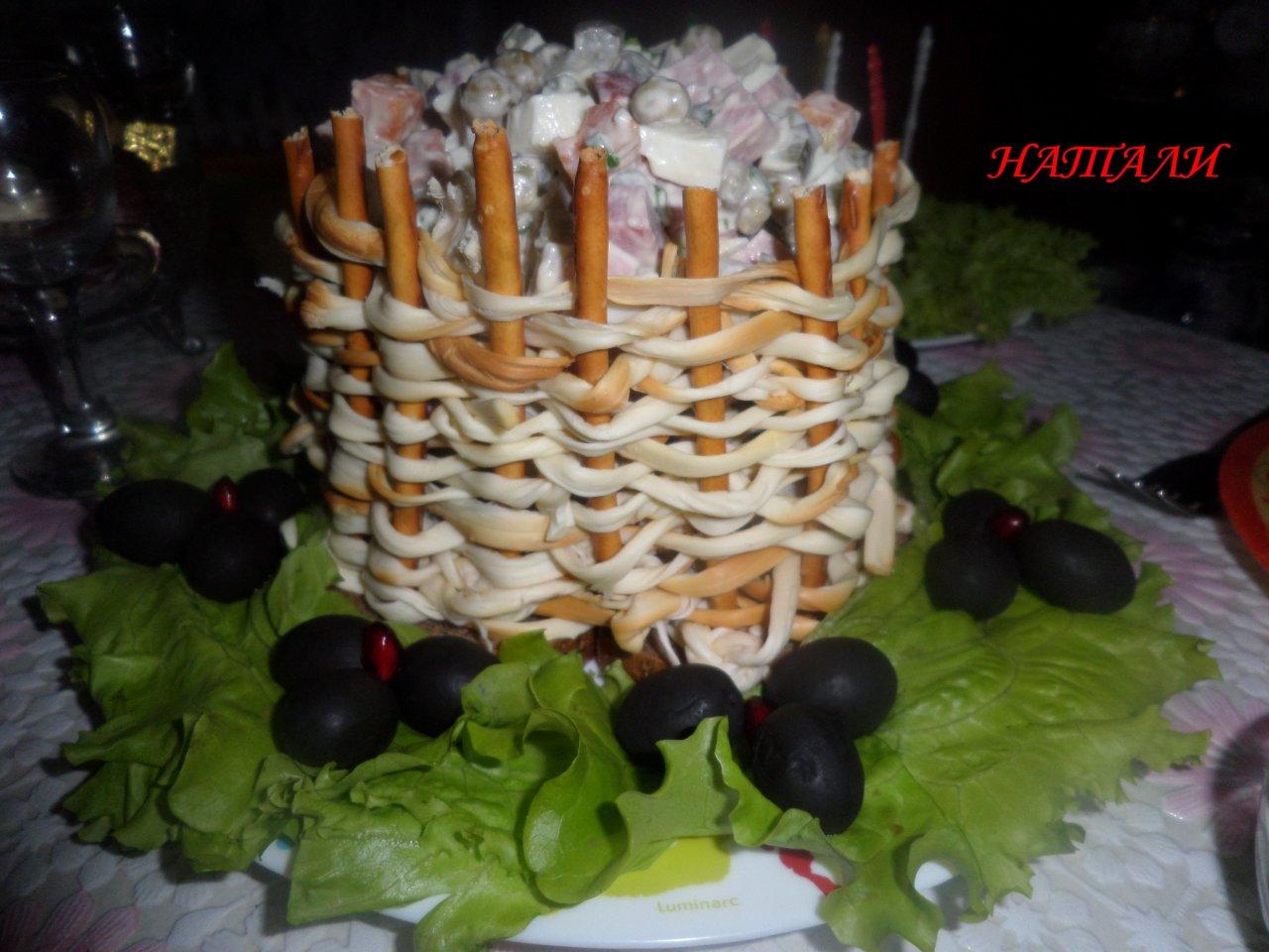 Красивая подача блюд