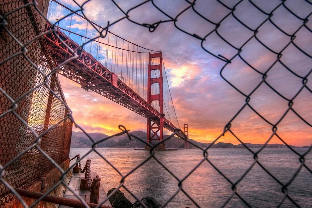 GoldenGate01 Золотые Ворота — самый фотографируемый мост в мире