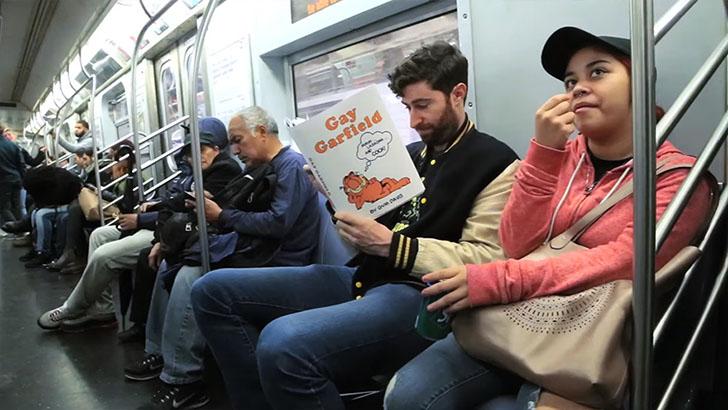 Антиобложки для книг, от которых у пассажиров отвисли челюсти