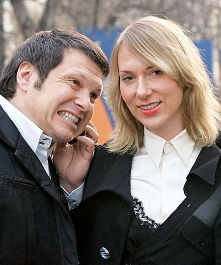 Жена Владимира Соловьева фото