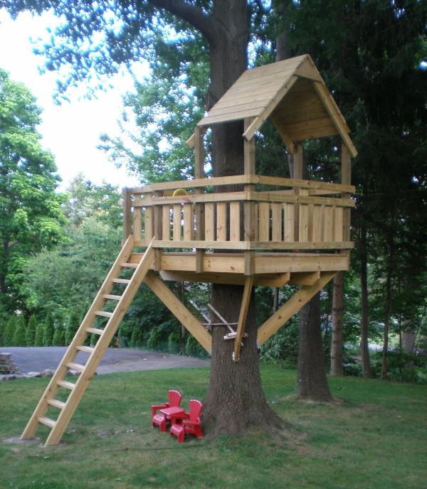 Дом на дереве своими руками детский 237