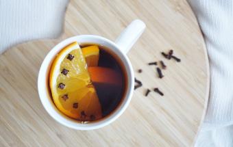 Ароматный зимний чай