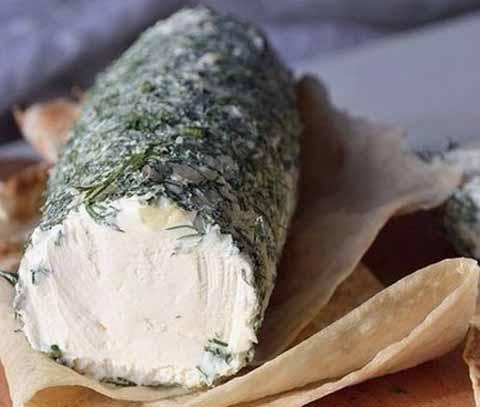 Творожный сыр из сметаны и кефира