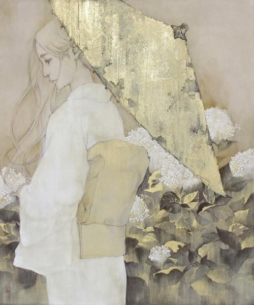 Та, что наполняла любовью цветы… Японская художница Shimada Sanami