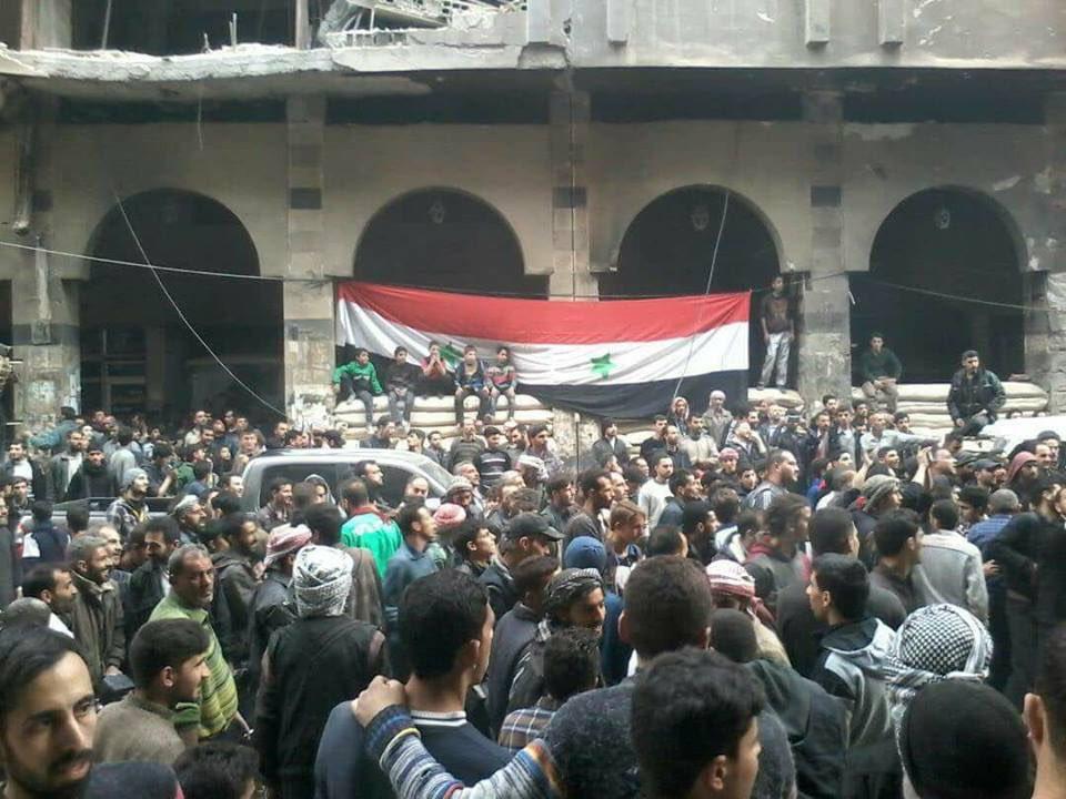 Месть за освобождение Дамаска