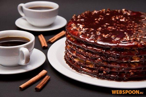 Фото торт грильяжный