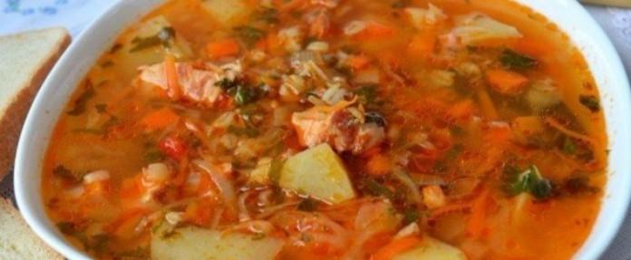 Суп «Харчо» с перловкой