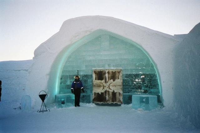 Самый известный ледяной отель откроется уже в декабре