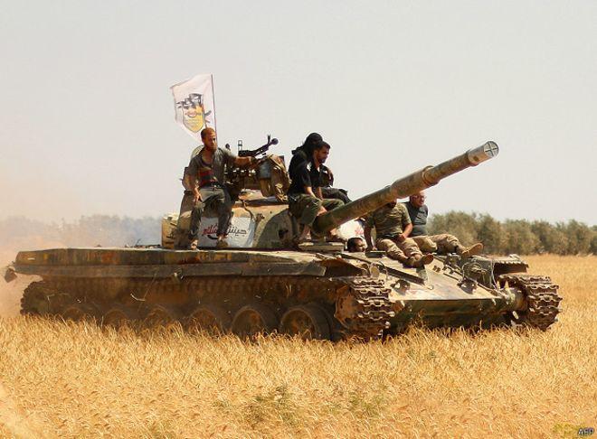 Трофейное оружие из Сирии