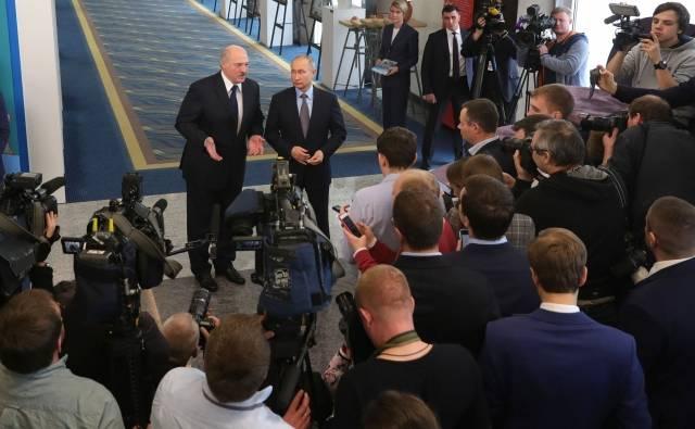 Путин и Лукашенко приступили…