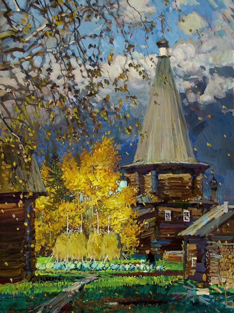 Жизнеутверждающая симфония красок Михаила Абакумова
