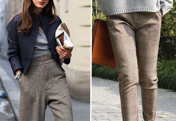 С чем носить брюки: 9 самых стильных образов для зимы
