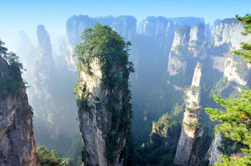 Чжанцзяцзе, Китай в мире, красота, пейзажи, планета