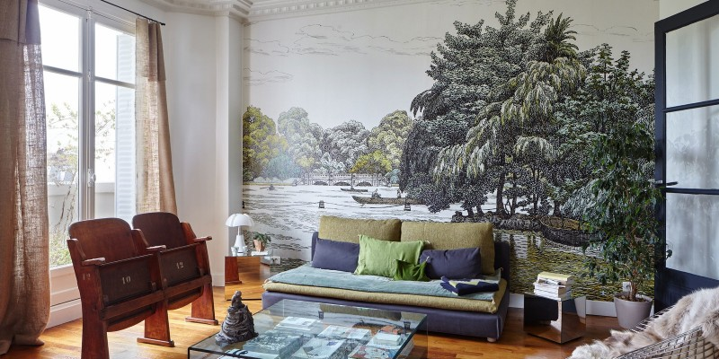 Квартира дизайнера интерьеров в Париже