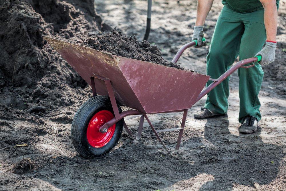 Замена почвы