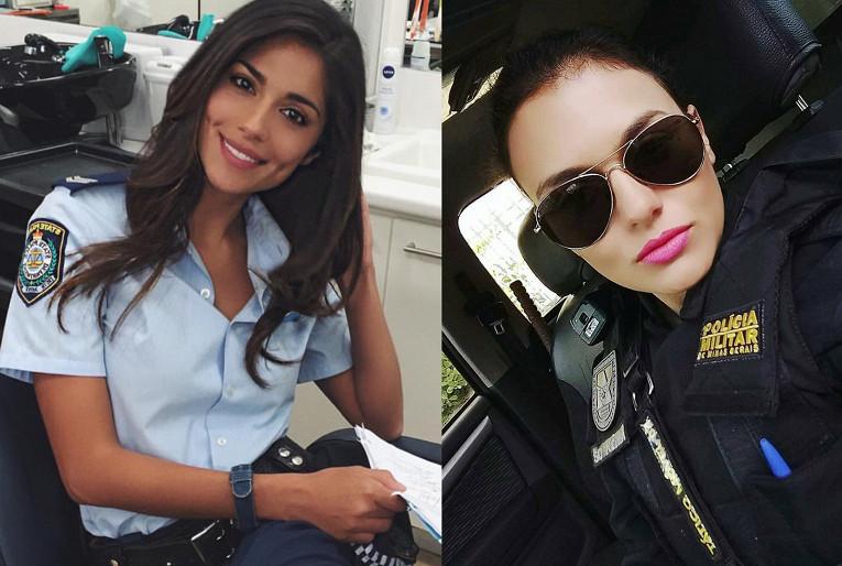 Арестуйте меня немедленно! Самые красивые девушки-полицейские