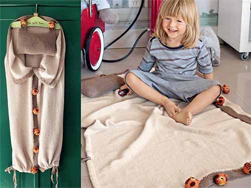 спальный мешок-трансформер