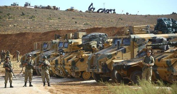 Турецкие военнослужащие в сирийском Идлибе