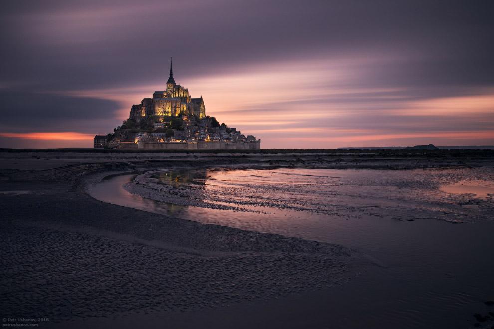 Экскурсия в замок Мон-Сен-Мишель