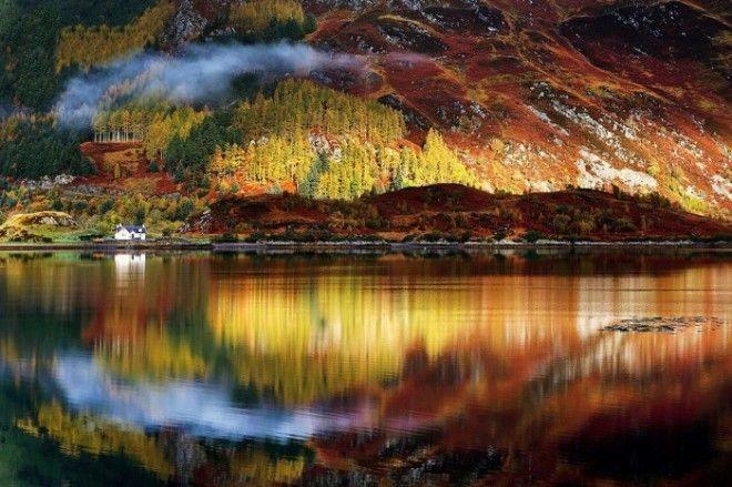 Красочные горные массивы