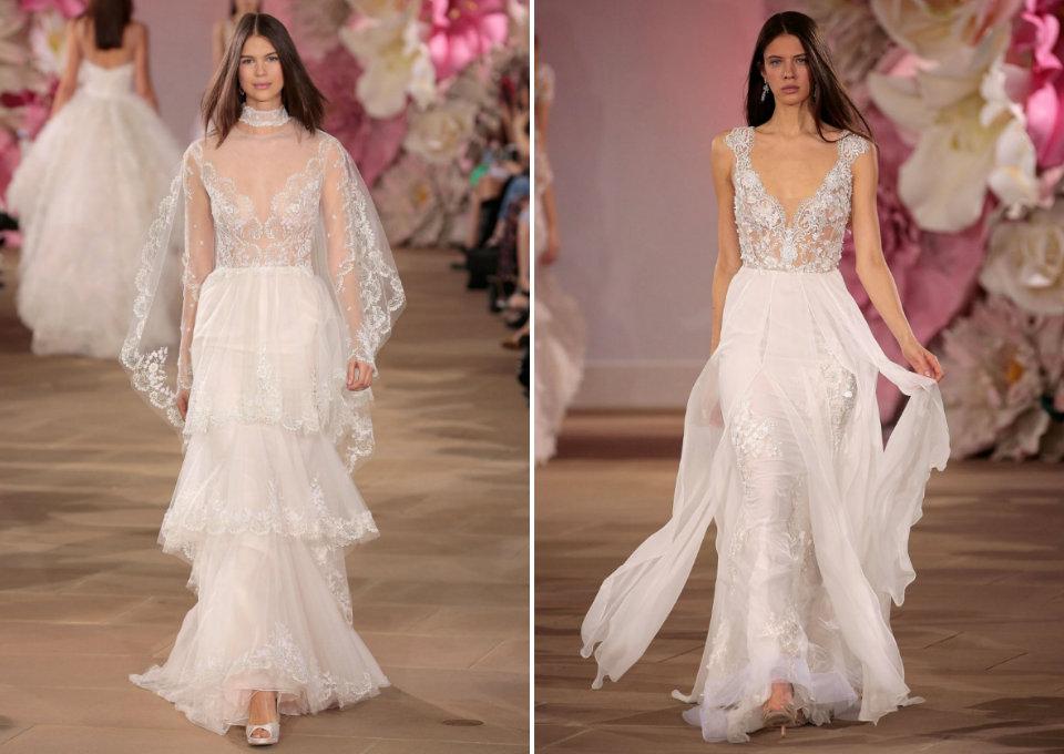 8 трендов Недели свадебной моды в Нью-Йорке