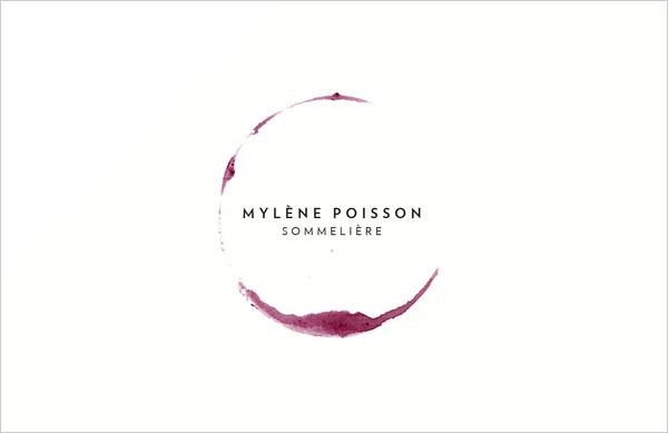 Mylene-Poisson-sommelier-business-card-design-&-Stationery-project