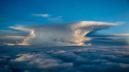 Завораживающие фотографии, сделанные из кабины пилотов (25 фото)