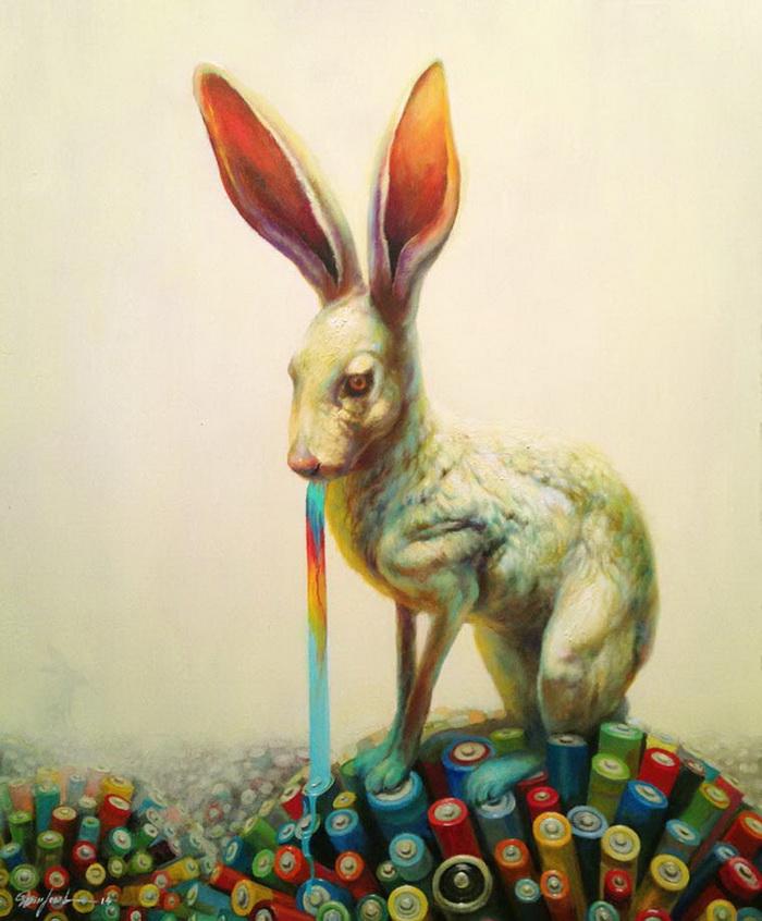 Картины Martin Wittfooth. Канадский художник рисует в стиле сюрреализм