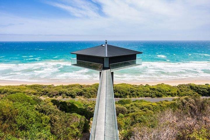 Дом на краю мира, или жилье для тех, кто не боится высоты дом, интересное, красиво, обрыв, строения