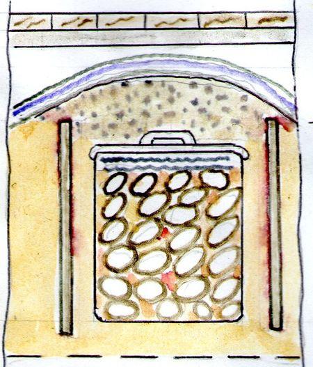 Тайное хранилище для овощей