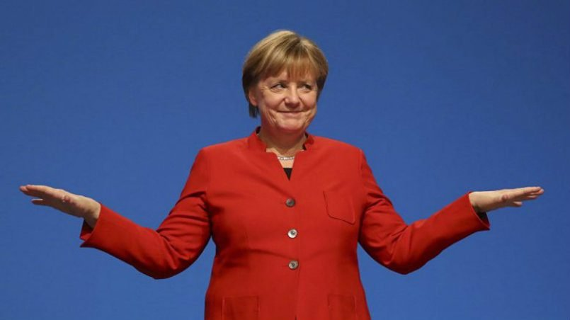 Меркель забыла о существовании Прибалтики и Польши