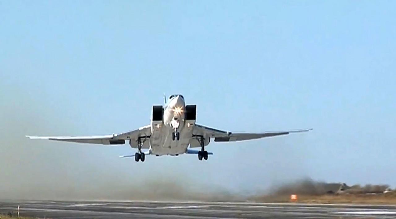 «Поддержка в разгроме ИГ»: российская дальняя авиация нанесла удар по позициям террористов в Сирии