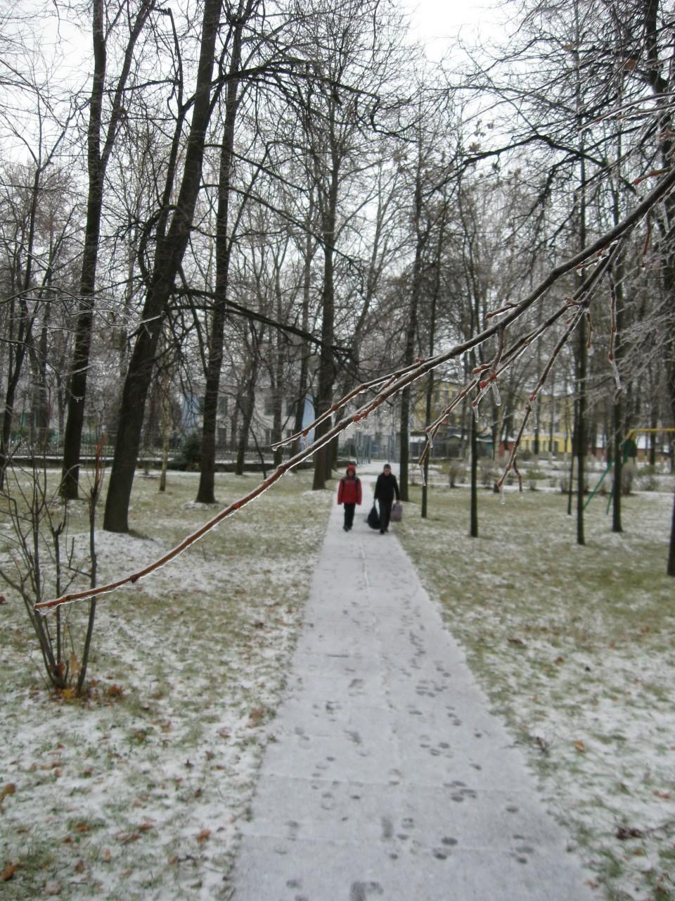Мгновения нашей жизни: Первый снег,  как первая любовь…
