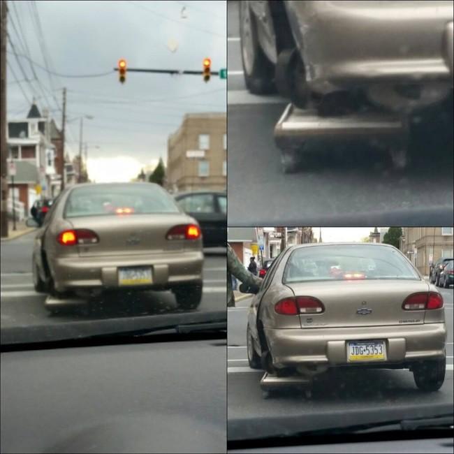 3. Нет колеса? Нет проблем! авто, прикол, ремонт