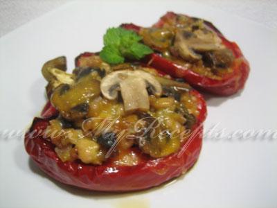Фаршированный перец мясом