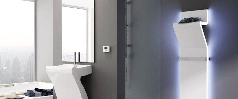 Полотенцесушители в интерьере ванной комнаты: совмещаем красоту и практичность