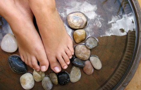 Лечение ног народными средствами...