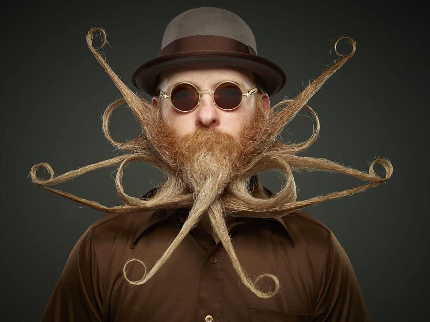 25 лучших участников конкурса на самую оригинальную бороду 2017