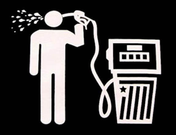 Бензин головного мозга? - Россия