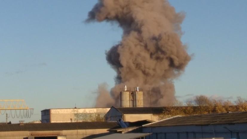Власти подтвердили взрыв на заводе под Петербургом
