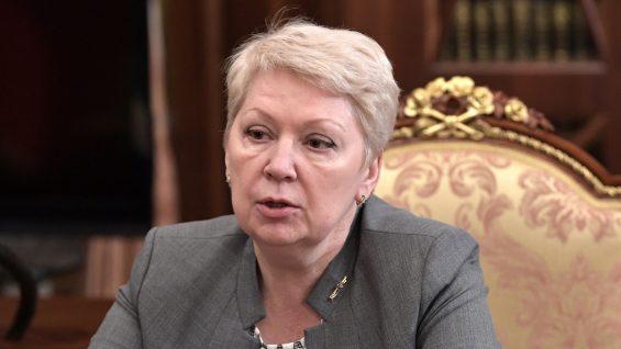 Васильева ответила на слова Грефа о математических школах