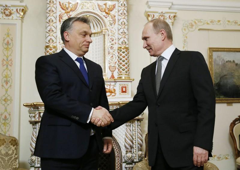 Путин назвал Венгрию надежным партнером