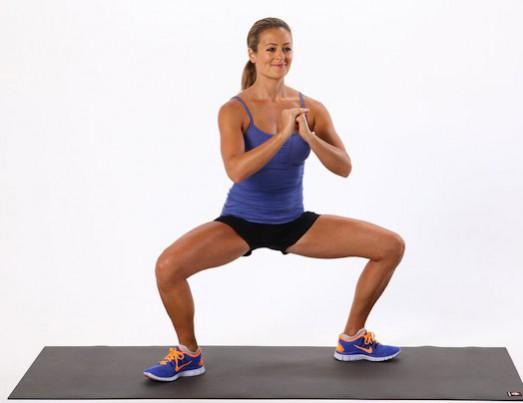 Плие — упражнение для стройных ног и упругих ягодиц.