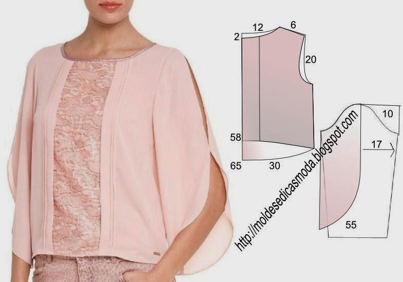 Как сшить блузку для 434