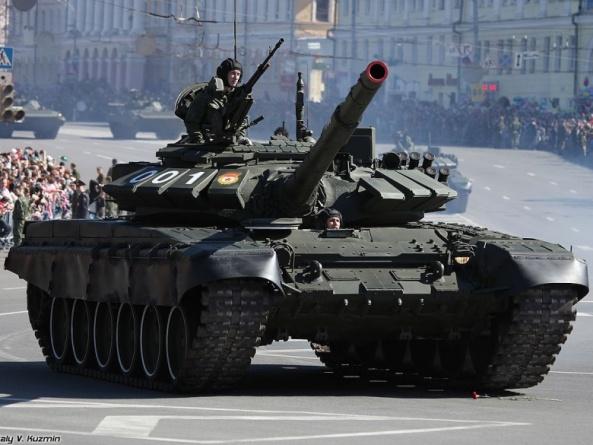 Первые шаги России после Сирии: модернизация старых танков Т-72