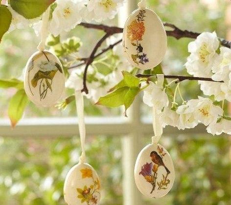 Чудесные пасхальные идеи для декора!