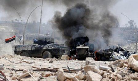 Иракская армия вошла вСтарый город Мосула ссеверного направления