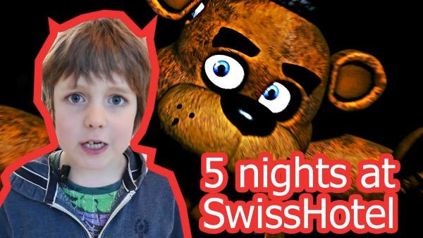 5 ночей с Фредди в реальной жизни. Охранник в отеле. ИгроБой Адриан MyCraftRu