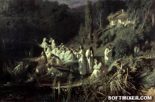 Картины русских художников: самые загадочные и таинственные из них
